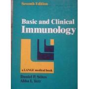 Basic And Clinical Immunology - Daniel P. Stites Abba I. Terr