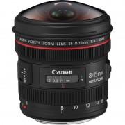 Canon Objetiva EF 8-15mm F4 L Fisheye USM