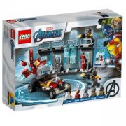 Конструктор Лего Супер Хироус - Оръжейната на Iron Man - LEGO Marvel Super Heroes, 76167