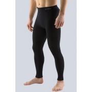 Bamboo férfi sport leggings hosszú fekete