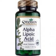 Alpha Lipoic Acid 100mg 120cps Swanson