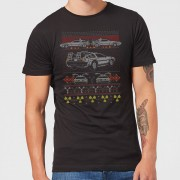 Back To The Future Back In Time For Christmas Men's T-Shirt - Black - XL - Black