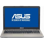 "Laptop ASUS X541NA-GO023 (Procesor Intel® Celeron® N3450 (2M Cache, 2.20 GHz), Kaby Lake, 15.6"", 4GB, 500GB HDD @5400RPM, Intel® HD Graphics 500, Endless OS, Negru ciocolatiu) + Antivirus BitDefender Plus 2018, 1 PC, 1 an, Licenta noua, Scratch Card"