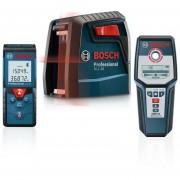 Combo Nivel Laser GLL 30S + Medidor GLM 30 + Detector GLM 40