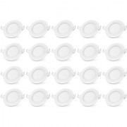 Bene LED 12w Round Panel Ceiling Light Color of LED Warm White (Yellow) (Pack of 20 Pcs)