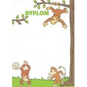Małpki - dyplom