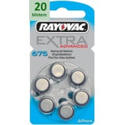Rayovac 675 Extra Advanced - 20 blistere