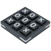 Craft Art India Wooden Black Tic Tac Toe Puzzle Indoor / Outdoor Game Cai-Hd-0278
