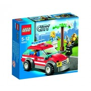 Lego City Fire Chief Car Building Set