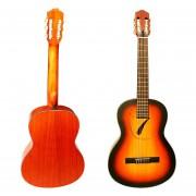 Increible Guitarra Acustica Con Selleta Hueca En Forma De Paloma