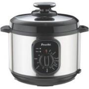 Preethi Twist 5.0 Ltr Electric Rice Cooker(5 L, Black, Steel)