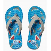 Reef Slippers Kids Ahi Blauw