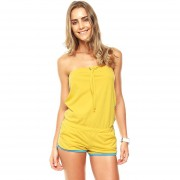 Too Good - Romper Amarillo - Amarillo - WM0062