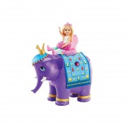 Barbie Chelsea Y Rey Elefante