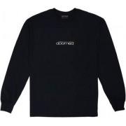 Doomed Långarmad T-shirt Doomed Doomerton (Svart)