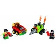 Set Constructie Lego Super Heroes Dc Comics Mighty Micros Robin Vs. Bane