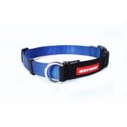 EzyDog Checkmate Halsband - Martingale halsbanden - Blauw - Size: Small