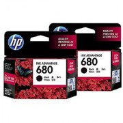 HP 680 Black Original (F6V27AA) Ink Advantage Cartridge Pack Of 60 Numbers