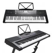 Orga electronica cu 61 de clape luminoase Led MK-2108 si citire MP3/USB