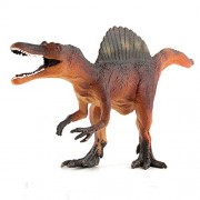 E-SCENERY 12 Inch Big Plastic Dinosaurs Model Action Figures Science Toys Dinosaur One Size Red Spinosaurus