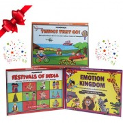 WondrBox educational gift set-pack of 3 learning games 12 DIY activities included for age 3+