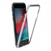 Funda para Iphone Xs Max Jyx Accesorios Magnética Bumper Aluminio - Plata