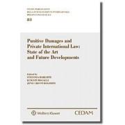 Punitive damages and private international law: state of the art and future developments, Fumagalli, Cedam, 2019, Libri, Diritto internazionale e comu