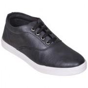 Sukun Men's Black Casual Lace Up Shoes