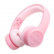 PICUN E2 Children Over-ear Bluetooth 4.1 Headphone with Microphone Support Aux-in - Pink