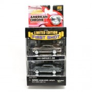 1955 Chrysler C-300 * Limited Edition First Shot * 2000 Johnny Lightning American Chrome Collection