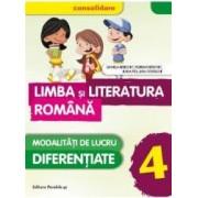 Limba si literatura romana - Clasa a 4-a 2016 - Daniela Berechet Florian Berechet J. Tita L. Costache