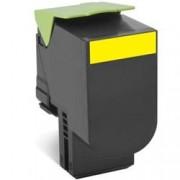 ORIGINAL Lexmark toner giallo 80C20Y0 802Y ~1000 Seiten cartuccia di stampa riutilizzabile