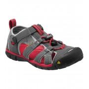 KEEN SEACAMP II CNX K Dětské sandály KEN1201103403 magnet/racing red 10(29)