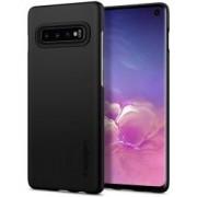 Samsung Spigen Thin Fit Hoesje Samsung Galaxy S10 Zwart
