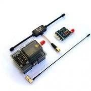HATCHMATIC 2Pieces RP-SMA o SMA Interior del Agujero/Agujas de la Antena de 5,8 GHz Gains FPV Aerial Photo RC Transmisor Receptor Quadcopter: Un SMA S