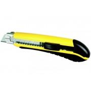 STANLEY 0-10-480 Műanyagházas fémmegvezetéses tördelhetőpengés kés, profi 18mm