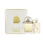Chloe Love Story 50Ml Edp 50Ml + 100Ml Body Milk Per Donna (Eau De Parfum)