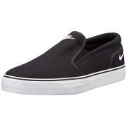 Nike Men's Toki Slip Txt Black and White Leather Sneakers -8 UK/India (42.5 EU)(9 US)