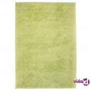 vidaXL Čupavi ukrasni tepih 180x280 cm zeleni