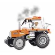 Cobi tractor bouwstenen pakket