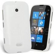 Nokia Lumia 510 Силиконов Калъф Бял + Протектор