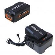 Set Redback powerpack acumulator EA20 120V 2Ah acumulator Li Ion EA30 120V 3Ah incarcator EC440 120V 3.5A