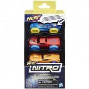 Hasbro nerf c0774eu40 - pacco di 3 auto, modellini assortiti (no scelta)