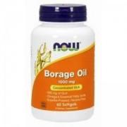 Масло от Пореч - Borage Oil - 60 дражета - NOW FOODS, NF1720