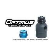 TechT Optimus 360 Swivel Gauge Adapter - Black