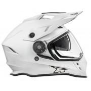 AXO EMX Casca Motocross cu viziera Marime L 58-59 cm Alba