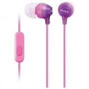 Sony Auricolare Originale A Filo Stereo In-Ear Mdrex15ap Pink Per Modelli A Marchio Motorola