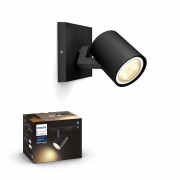 Philips HUE White Ambiance 53090/30 / P9 Runner spot 1xGU10 5.5W / 250lm 2200-6500K černá Bluetooth