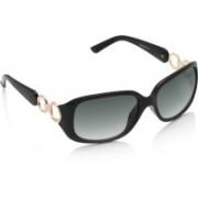 Equal Rectangular Sunglasses(Grey)