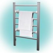 HOME elektromos, fali / álló, fürdőszobai, törölközőszárító fűtőtest, metál színben, max 100W teljesítménnyel, IPX1 védelemmel HOME (FTW 2)